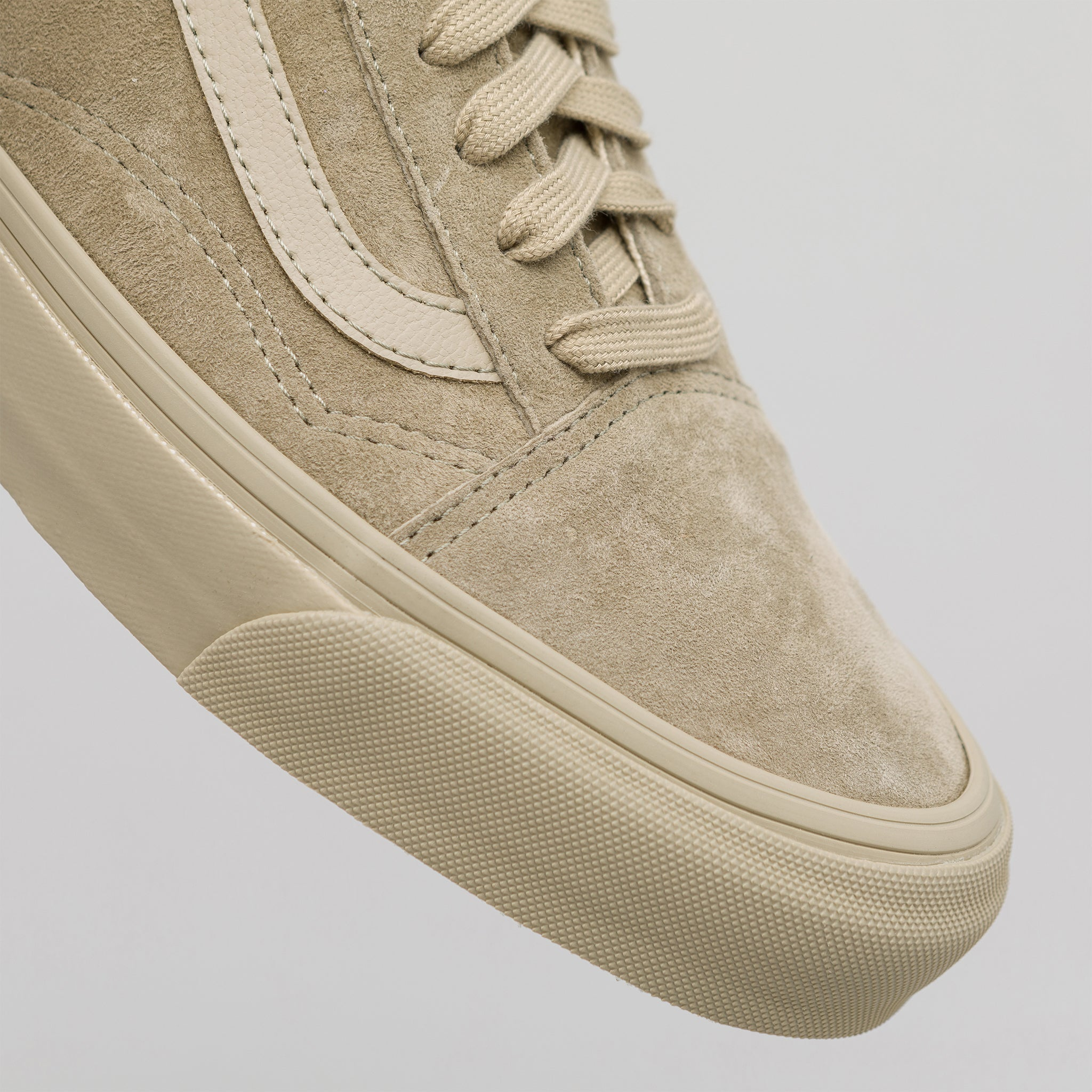 ffd1aa59d0 Vans Vault Old Skool LX Leather Suede in Taupe