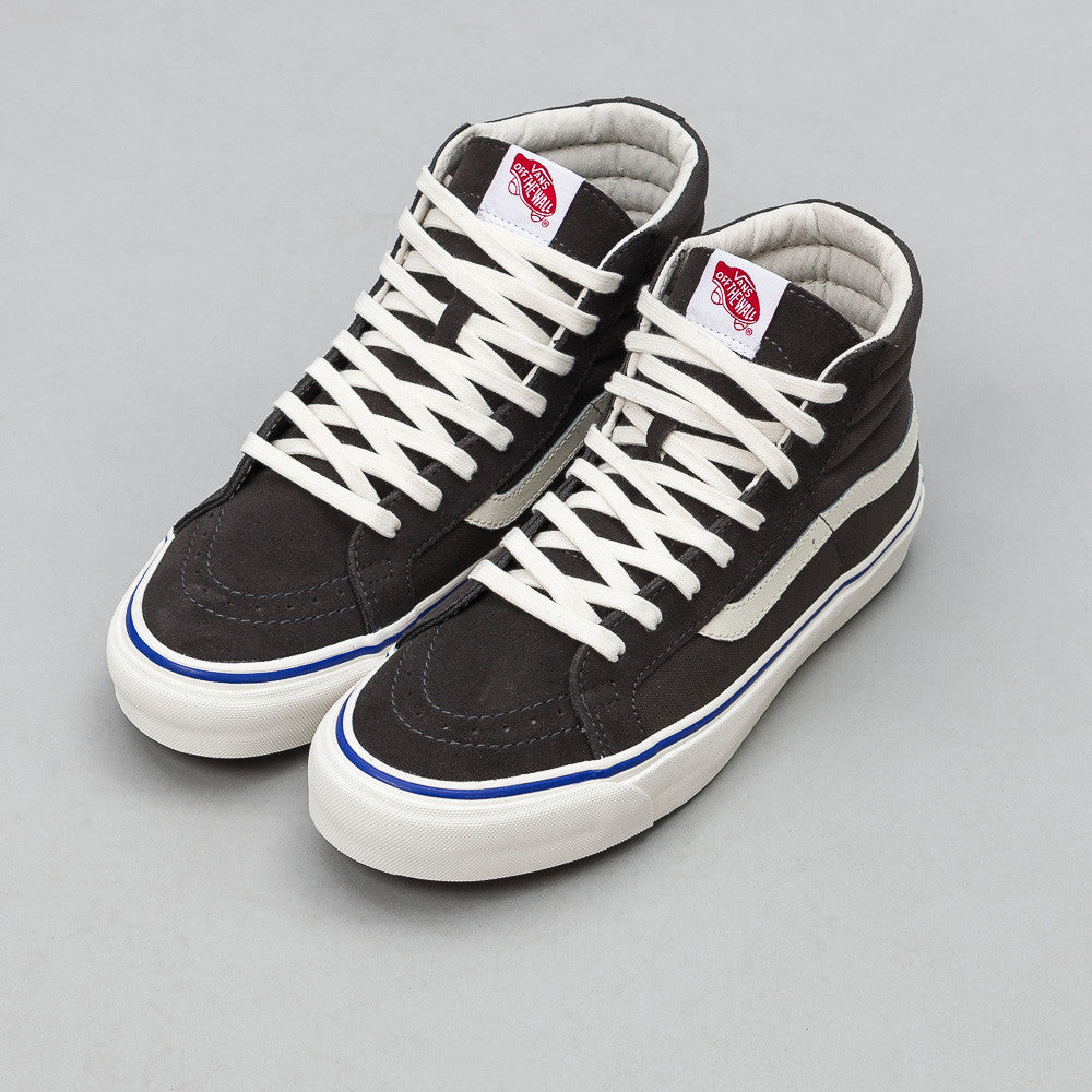 Vans OG Sk8-Hi LX in Raven Suede/Canvas VN0003T0KC2