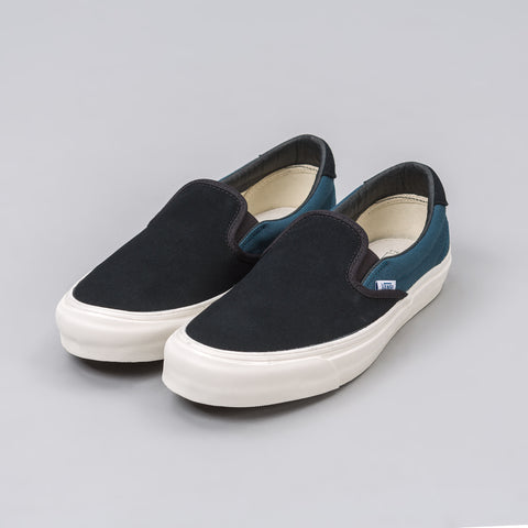 Vans Vault OG Slip-On 59 LX in Blue Canvas - Notre