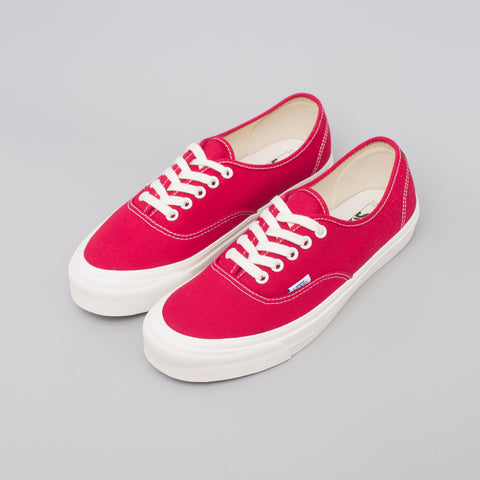 Vans Vault Authentic LX in Chili Pepper - Notre