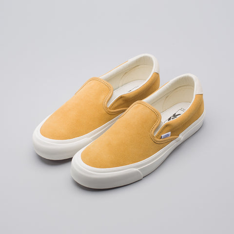 Vans Vault OG Slip On 59 LX in Honey Mustard - Notre