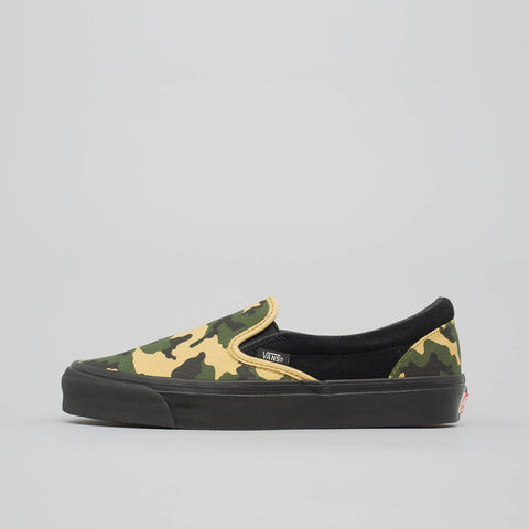 Vans Vault Classic Slip-On in Camo/Black - Notre