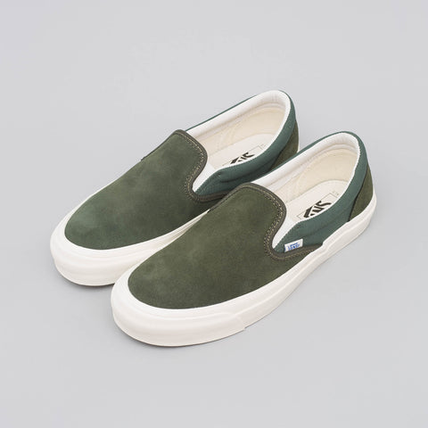 Vans Vault Classic Slip-On in Forest Night - Notre