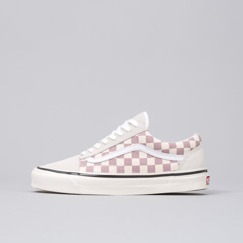Vans Old Skool 36 DX Anaheim Factory in Purple Checkerboard - Notre