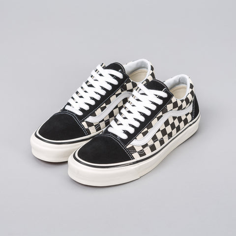 Vans Old Skool 36 DX Black Checkerboard - Notre