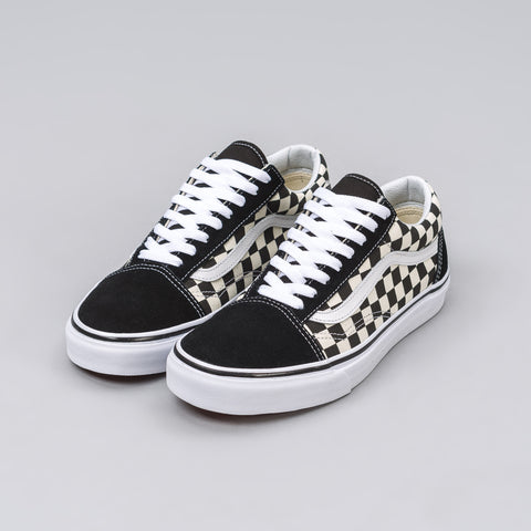 Vans Old Skool in Black Checkerboard - Notre