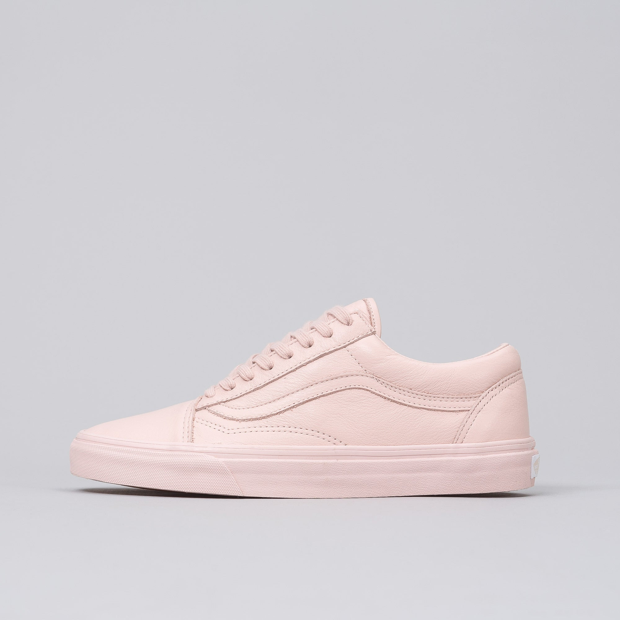 Old Skool Mono Leather in Sepia Rose