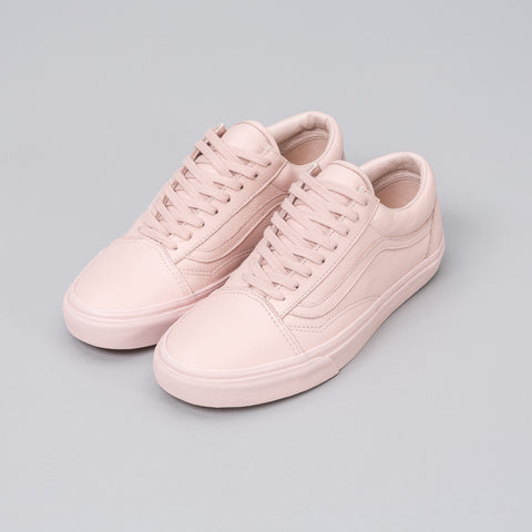 Vans Old Skool Mono Leather in Sepia Rose - Notre