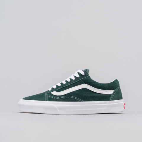 Vans Old Skool Pig Suede in Darkest Spruce - Notre