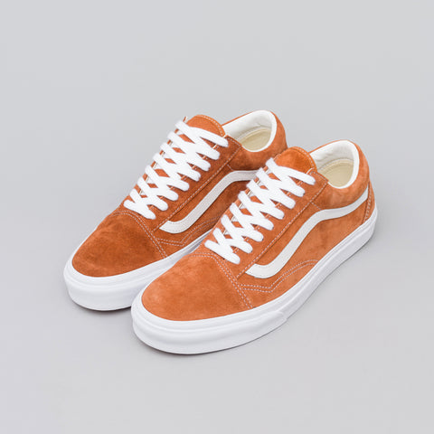 Vans Old Skool Pig Suede in Leather Brown - Notre