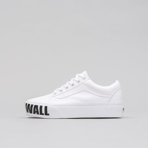 Vans Old Skool Platform Off the Wall - Notre