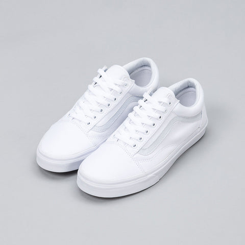 Vans Old Skool in True White - Notre