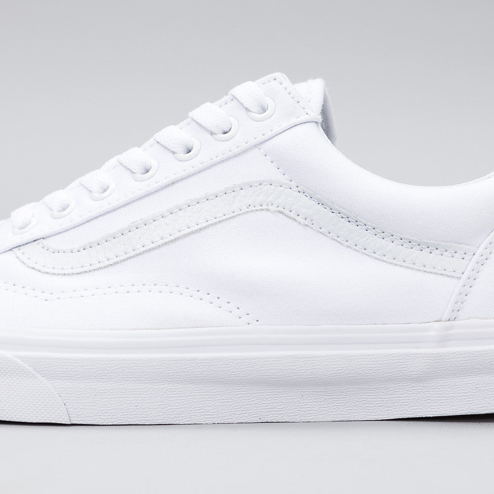 Old Skool in True White