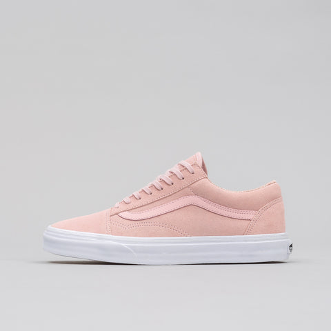 Vans Old Skool Woven/Suede in Pink - Notre