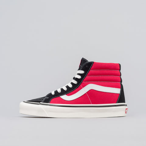 Vans Sk8-Hi 38 DX Anaheim Factory in OG Black/Red - Notre