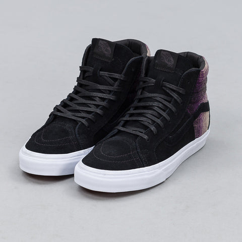 Vans - Sk8-Hi 46 DX in Black/Mountain Plaid - Notre - 1