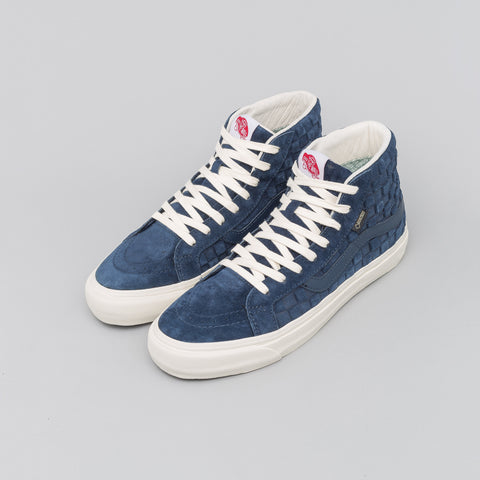 Vans Vault Sk8-Hi GTX LX in Checkerboard Dress Blue - Notre