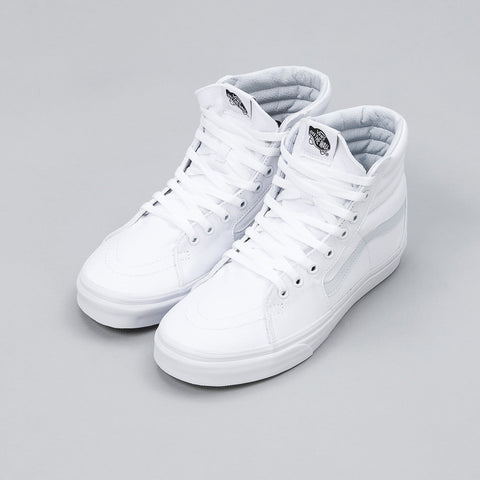 Vans Sk8-Hi in True White - Notre