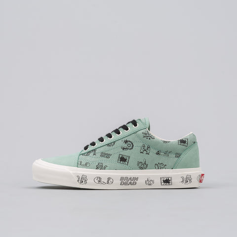 Vans Vault Braindead x Vans Vault Old Skool LX in Granite Green - Notre