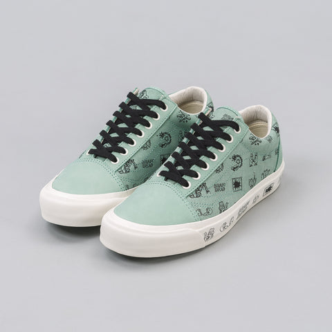 Vans Vault x Brain Dead Old Skool LX in Green - Notre