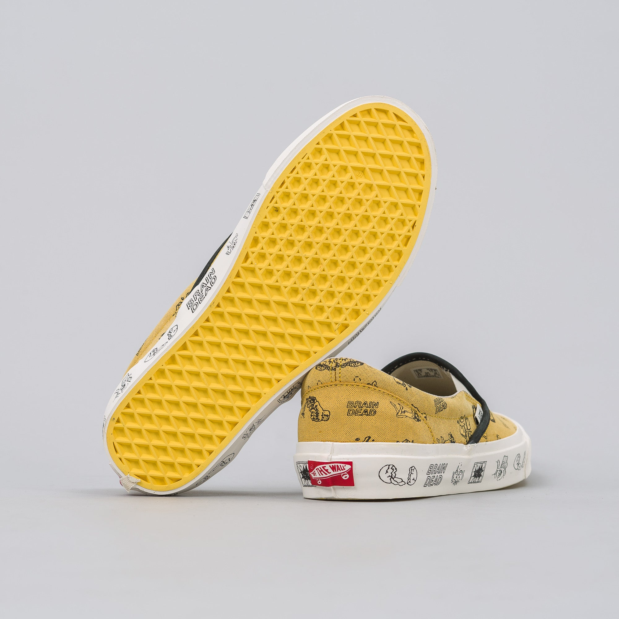 x Brain Dead Slip On LX in Golden