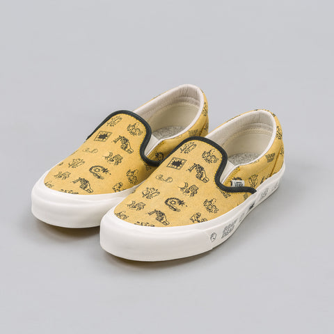 Vans Vault Braindead x Vans Vault Slip On LX in Aspen Golden - Notre