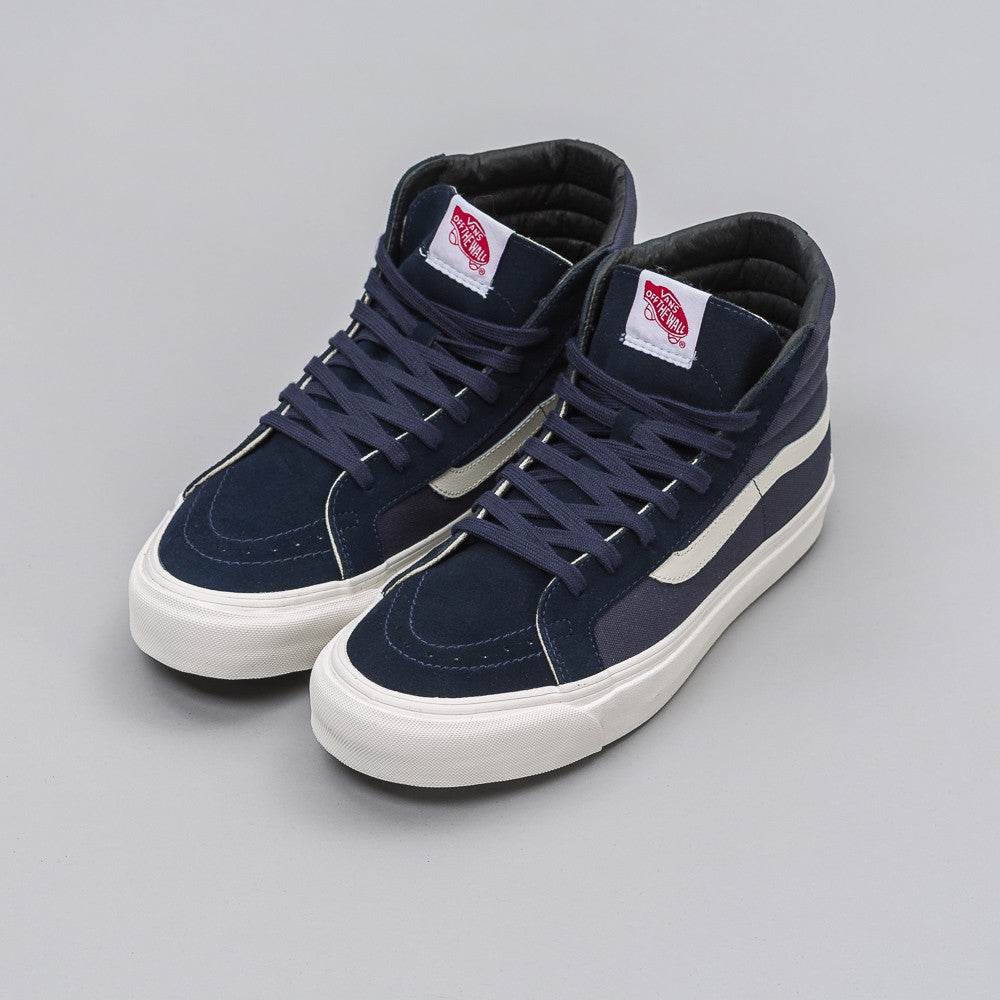 Vans Vault UA OG Sk8-Hi LX in Blue Night - Notre