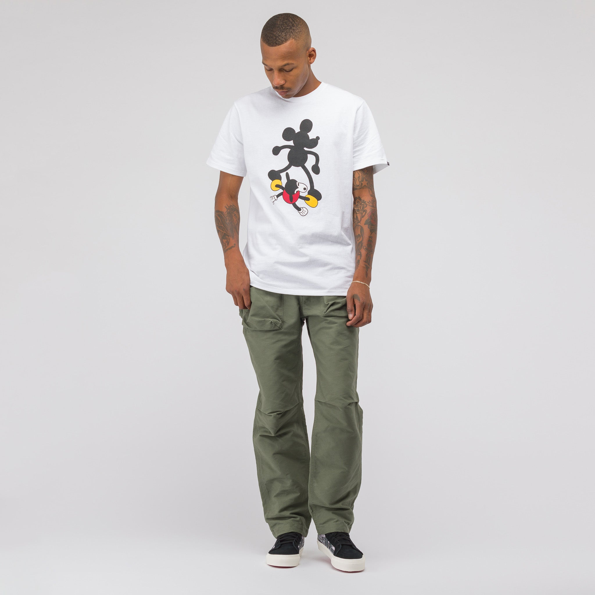 x Disney Mickey's 90th Birthday T-Shirt in White