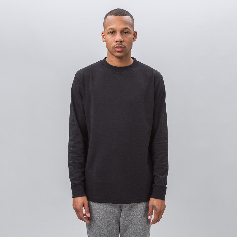 x Our Legacy LS Tee in Black