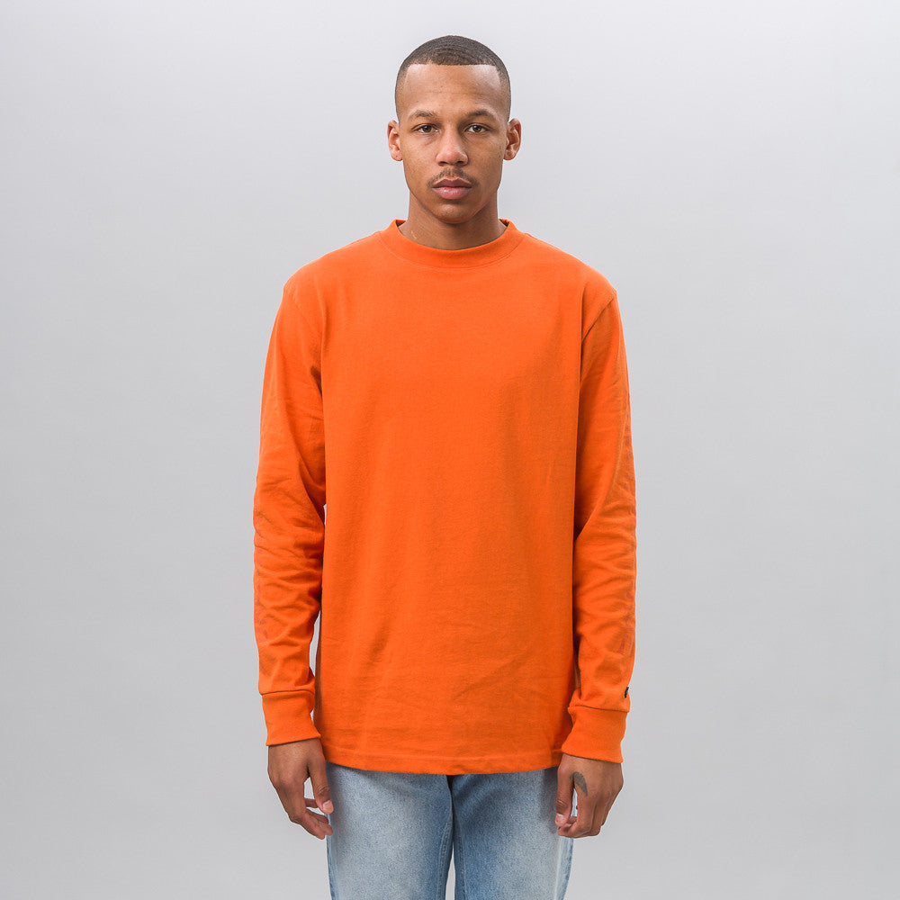 Vans Vault Vans Vault x Our Legacy Long Sleeve Tee in Orange - Notre