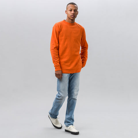 Vans Vault x Our Legacy LS Tee in Orange - Notre