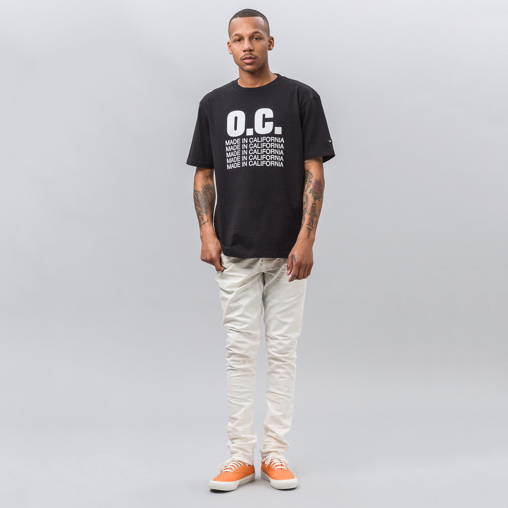 Vans Vault Vans Vault x Our Legacy Short Sleeve Tee in Black - Notre
