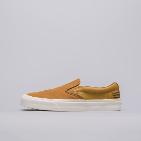 Vans Vault x Taka Hayashi Slip-On 66 LX in Golden Brown - Notre