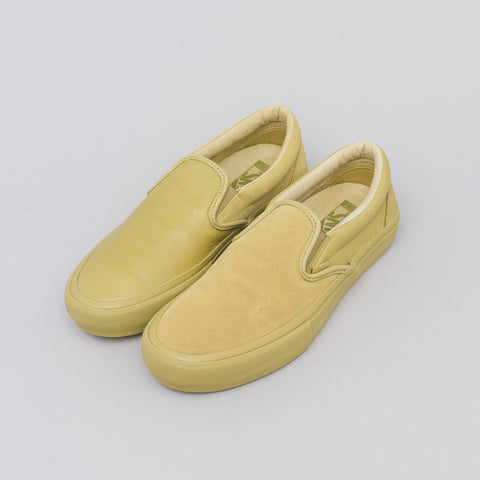 Vans Vault x Engineered Garments Classic Slip-On in Khaki - Notre