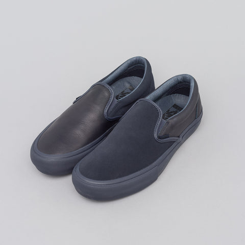 Vans Vault x Engineered Garments Classic Slip-On in Navy - Notre