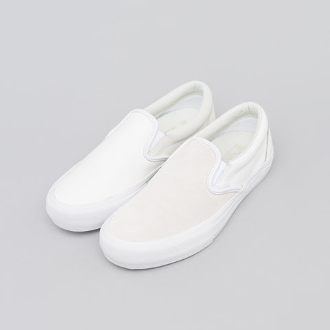 Vans Vault x Engineered Garments Classic Slip-On in True White - Notre