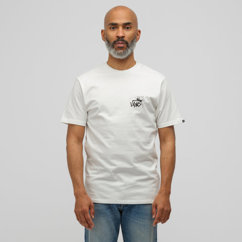 Vans Vault x Ralph Steadman Nurse Shark T-Shirt in White - Notre