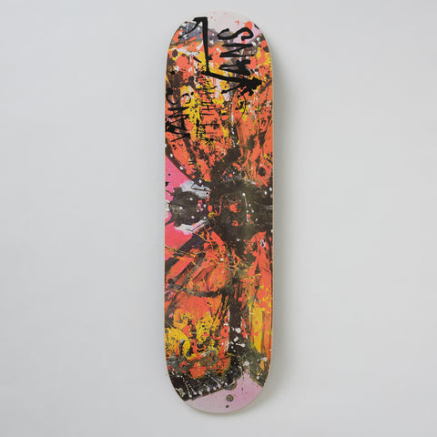 Vans Vault x Ralph Steadman Monarch Butterfly Skate Deck in Orange - Notre