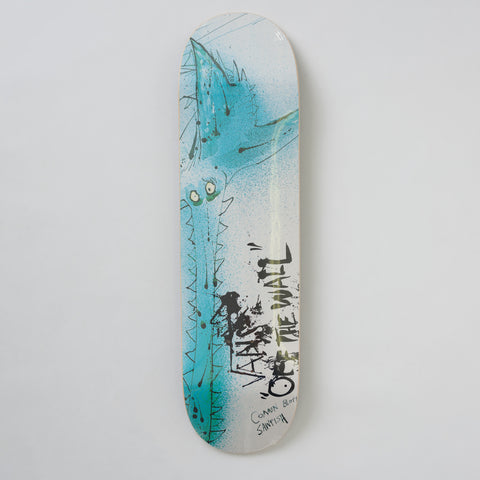 Vans Vault x Ralph Steadman Sawfish Skate Deck in White/Blue - Notre