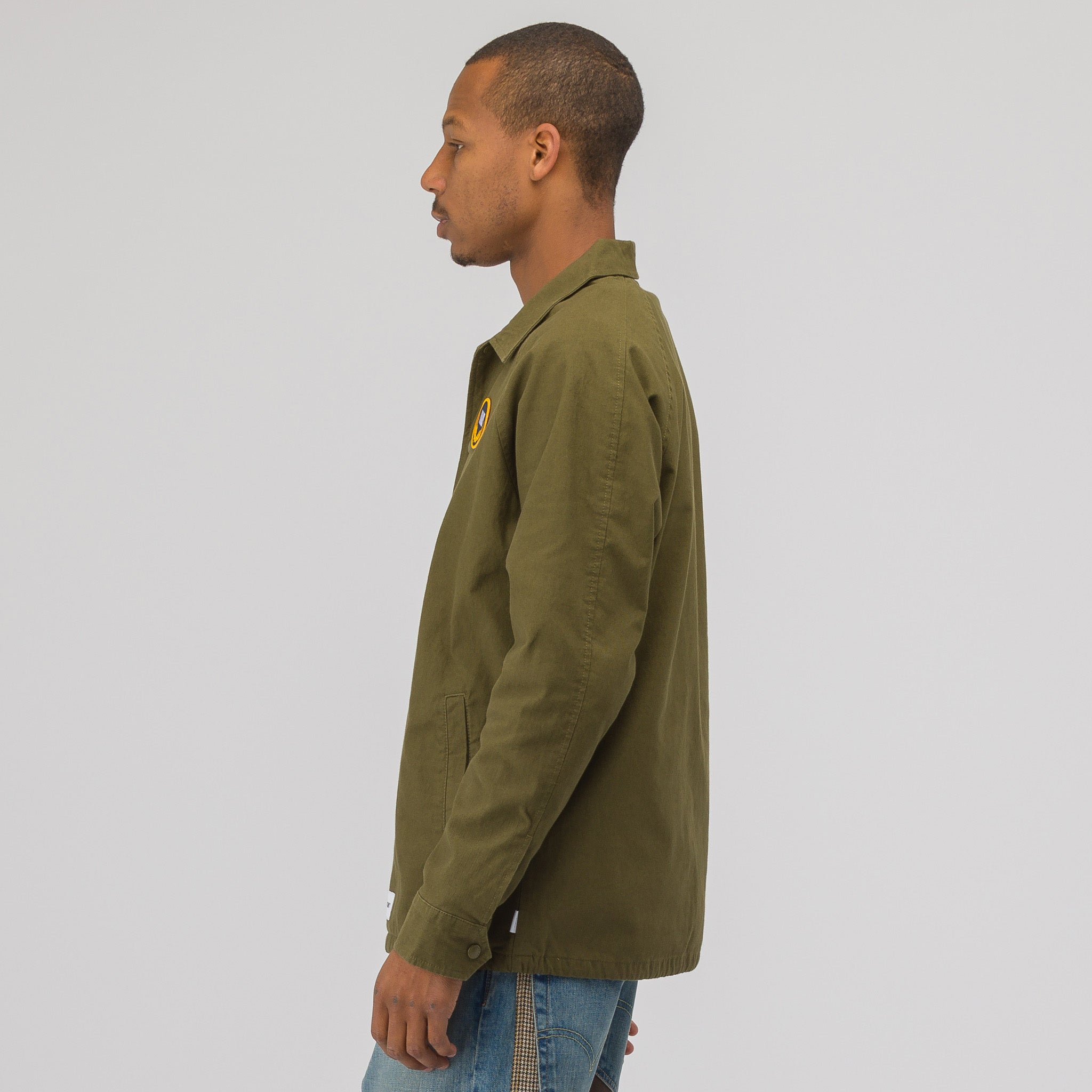 x WTAPS Torrey Coaches Jacket in Olive