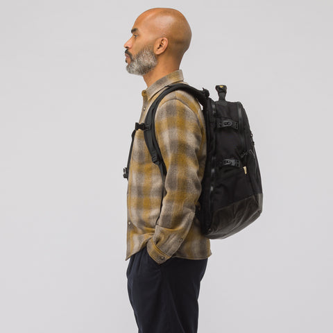 visvim 20L Cordura Backpack Veg Lamb 2018 in Black - Notre