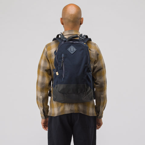 visvim 20L Cordura Backpack in Navy - Notre