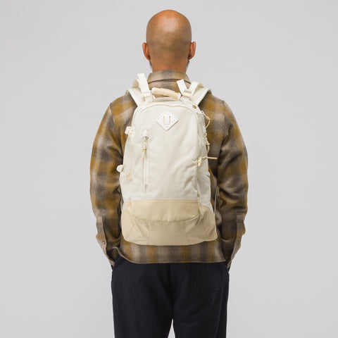 visvim 20L Cordura Backpack Veg Lamb in Off-White - Notre