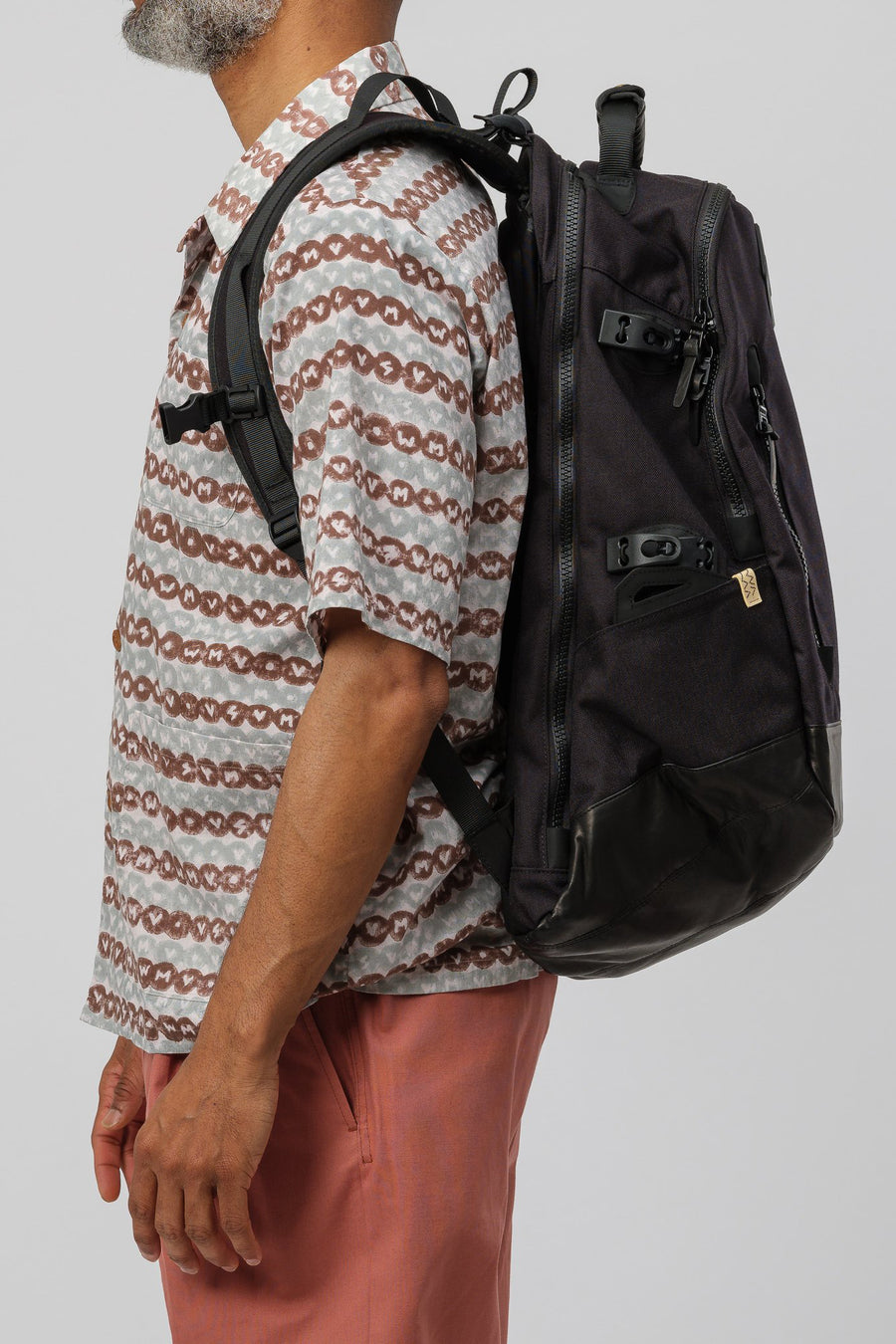 visvim 20XL Cordura Backpack Veg Lamb 2019 in Black - Notre