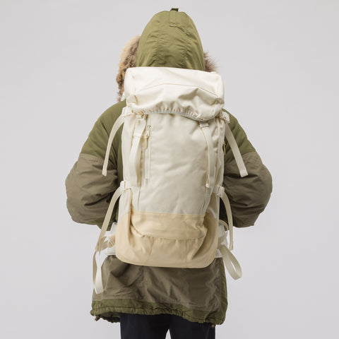 visvim 55L Cordura Backpack Veg Lamb in Off-White - Notre