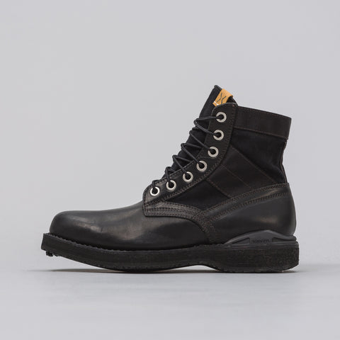 visvim 7-Hole '73-Folk Boot in Black - Notre