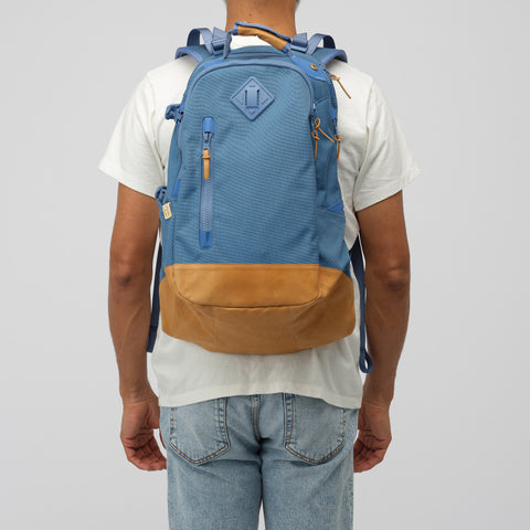 visvim 20L Cordura Backpack Veg Lamb 2019 in Blue - Notre