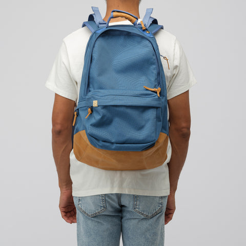 visvim 22L Cordura Backpack Veg Lamb 2019 in Blue - Notre