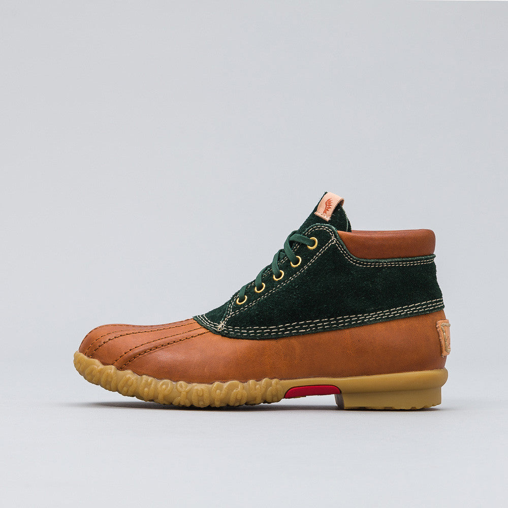 visvim - Decoy Duck Mid-Folk in Green - Notre - 1