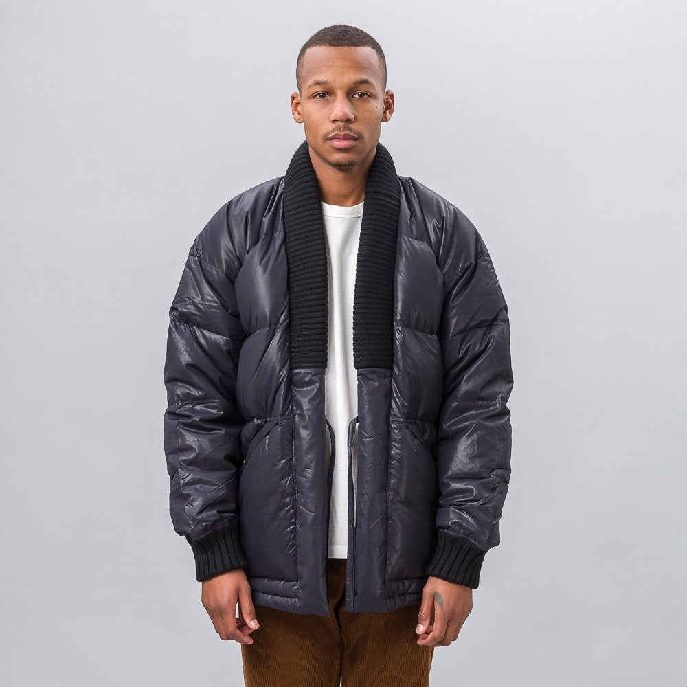 Dotera Down Coat in Black